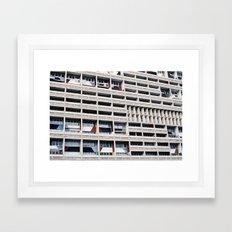 unite d`habitation Framed Art Print