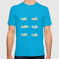 A sloth's life Mens Fitted Tee Teal SMALL