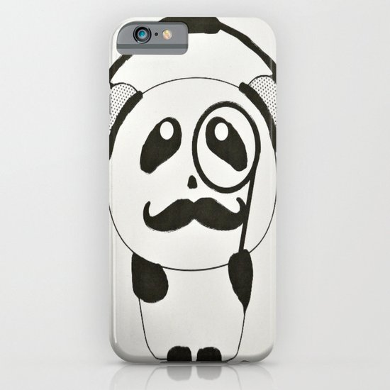 Professor Panda iPhone & iPod Case