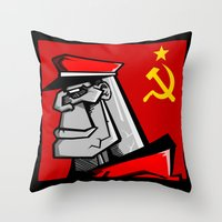 For Russia Throw Pillow