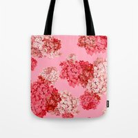 Hydrangea (doubled) Tote Bag