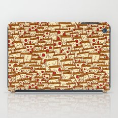 TONS OF SEAMLESS PIZZA iPad Case
