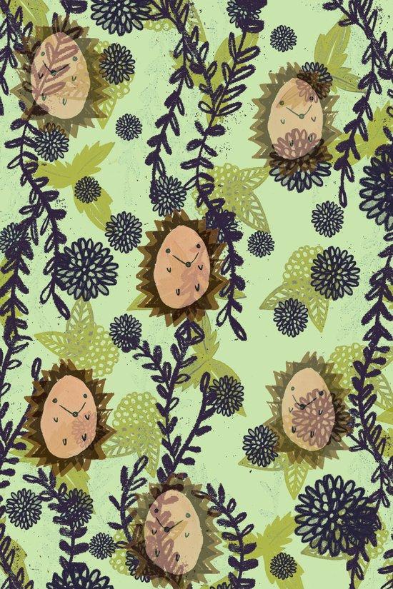 Hedgehog pattern Art Print