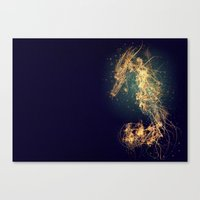 hippocampus Canvas Print