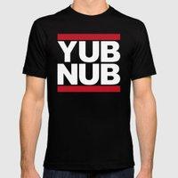 YUB NUB Mens Fitted Tee Black SMALL