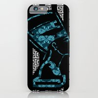 iPhone & iPod Case featuring Nefertiti (version 2.0)  by Artistofculture