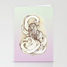 Waves of Consumption II Stationery Cards
