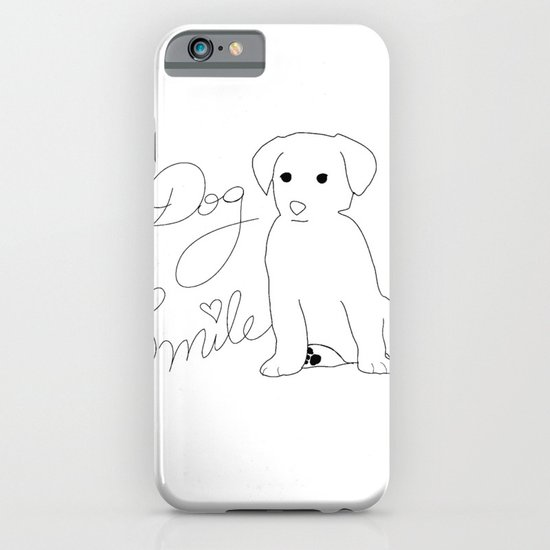 Dog Smile iPhone & iPod Case