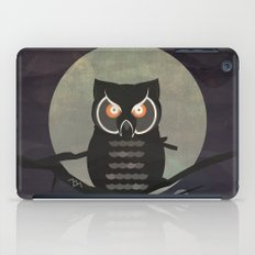 The owls are not what they seem. (Twin Peaks) iPad Case