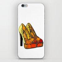 Shoe 3 iPhone & iPod Skin