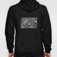 Tangled fishes Hoody