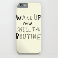 iPhone & iPod Case featuring WAKE UP by WASTED RITA