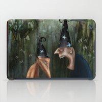 Trouble at the Magic Show iPad Case