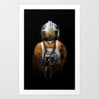 Pilot 03 Art Print