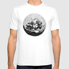 Lacrymosa Mens Fitted Tee SMALL White