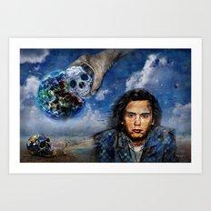 Jean-Michel Jarre 40 Years Oxygene  Art Print