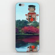 iPhone & iPod Skin featuring Walk In The Park by Paul Kimble