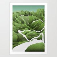 China / Travel Collectio… Art Print