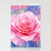 And the rain stopped Stationery Cards