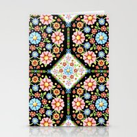 Millefiori Tile Pattern  Stationery Cards