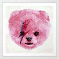 Boowie Art Print