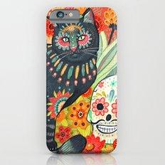 Dia De Los Muertos Cat iPhone 6s Slim Case