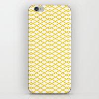 Yellow Diamonds In The S… iPhone & iPod Skin