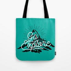 Go To Explore Tote Bag