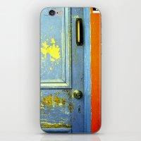 Primary Door iPhone & iPod Skin