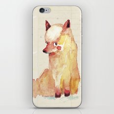 babyfox iPhone & iPod Skin