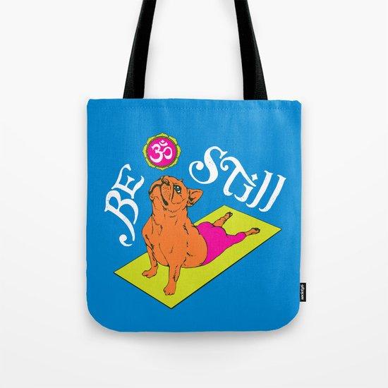 Frenchie Yoga Tote Bag