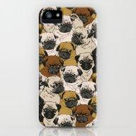 Social Pugz iPhone (5, 5s) Slim Case