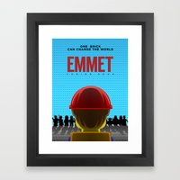Emmet Framed Art Print