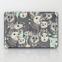 Sweater Mice Mint iPad Case