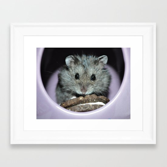 cookie time! Framed Art Print