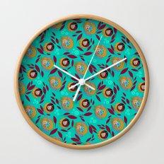 Wild Spirit Woman Wall Clock