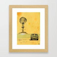The End Framed Art Print