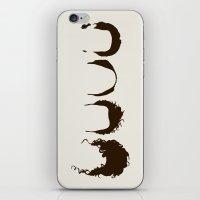 Seinfeld Hair iPhone & iPod Skin