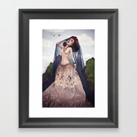 A Lover's Dream Framed Art Print