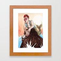 Rebel Ariel Framed Art Print