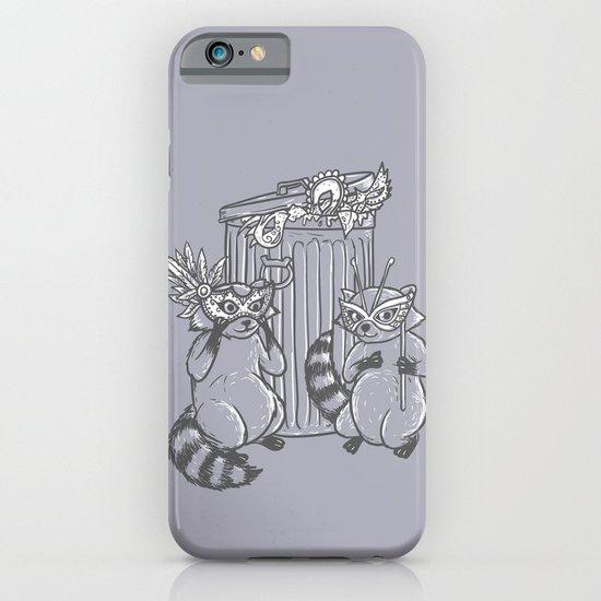 Fancy Raccoons iPhone & iPod Case