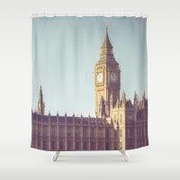 Dreaming Big Ben Shower Curtain
