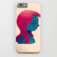 iPhone Cases featuring Mystique by Nan Lawson