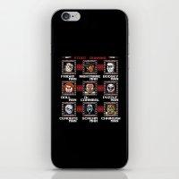 Mega Slashers iPhone & iPod Skin