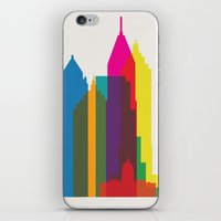 Shapes of Atlanta. Accurate to scale iPhone & iPod Skin