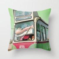 496 Throw Pillow
