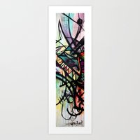 Artist Series Skate Grap… Art Print