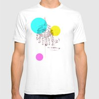 Eye See You Mens Fitted Tee White SMALL