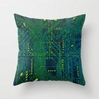 Tao Hacker Throw Pillow