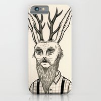 iPhone & iPod Case featuring Jackalope by Jon MacNair
